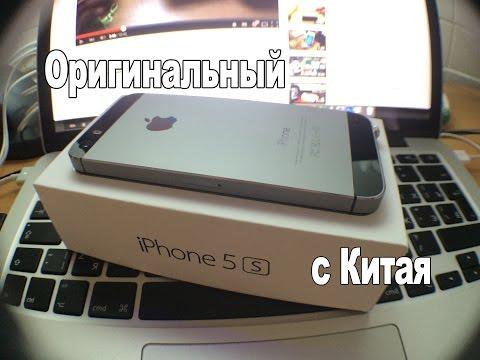 Оригинальный iphone 5s с Aliexpress (Китай) за 349$