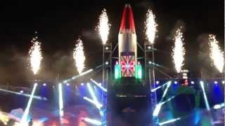 Encendido del escenario - Carnaval de Maspalomas 2013