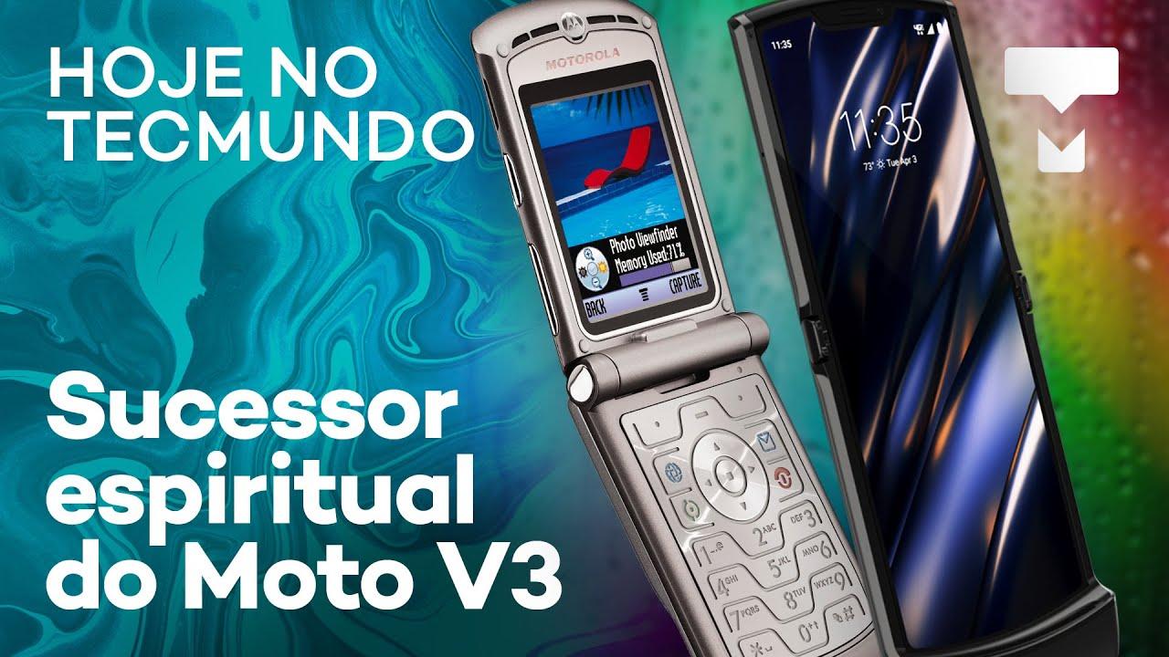 Motorola Razr finalmente chegou, Vivo comprando a Oi – Hoje no TecMundo