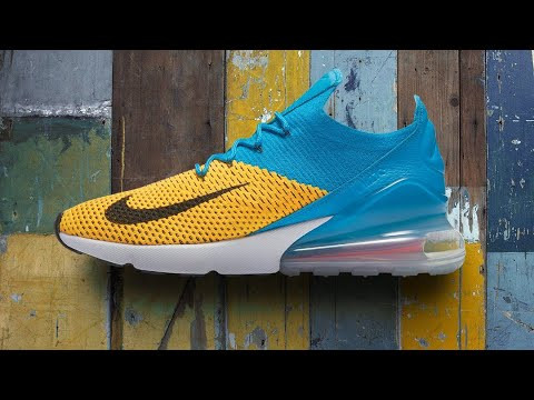 timeless design de955 878c1 Air Max 270 Flynit Unboxing and Review