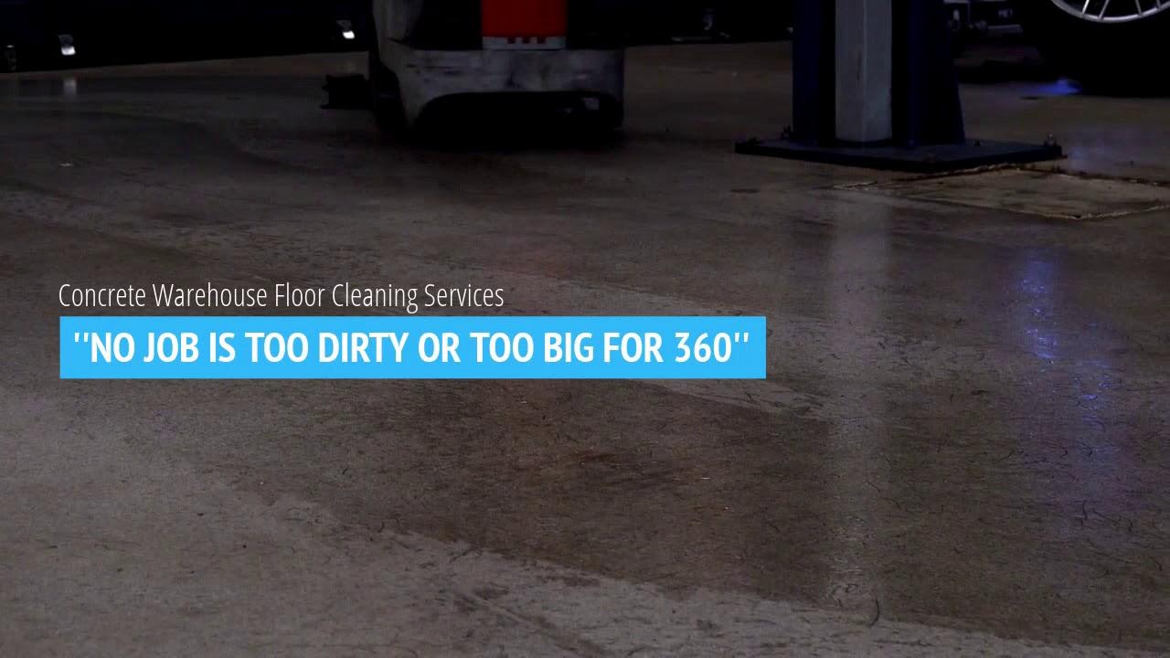 Concrete Warehouse Floor Cleaning Atlanta 360 Floor