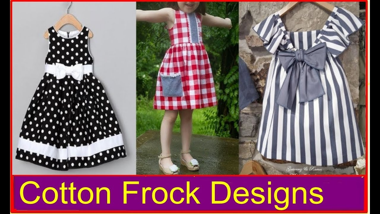 Cotton Frock Designs For Kids Baby Frock Design Home