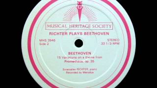 Sviatoslav Richter plays Beethoven: Variations op. 34, 35 & 76 (1970 recordings)
