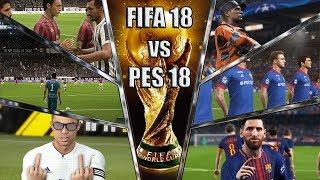 Так что же лучше? FIFA18 или PES18? | Самое полное сравнение