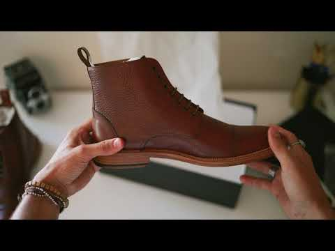 TAFT: Unboxing the Rome Boot in Brown