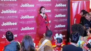 Miss Philippines Maxine Medina Shares Her Memorable Jollibee Experience #MissUAtJollibee