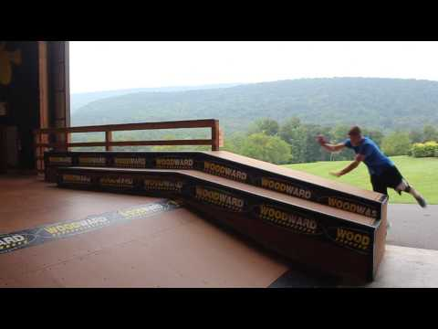 Parkour at Camp Woodward