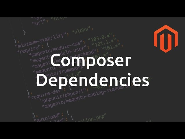 Declare Composer Dependencies in Magento 2 module
