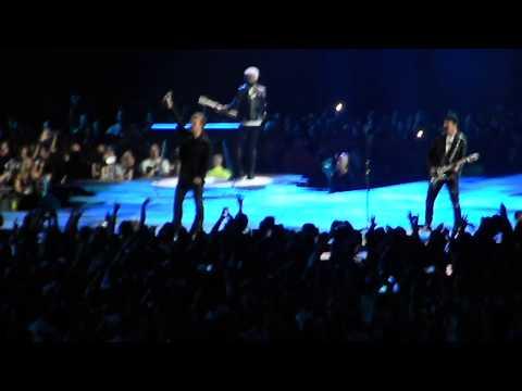 U2 performs Pride (In The Name Of Love) Tues 9-12-17 Arrowhead Stadium Kansas City