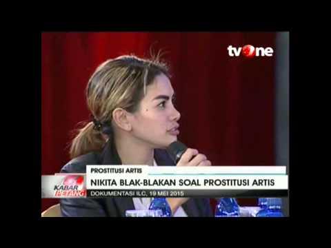 Nikita Mirzani Blak-blakan soal Prostitusi Artis