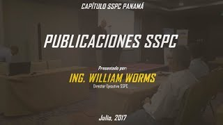 Publicaciones SSPC por William Worms
