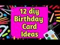 12 How to make Special Birthday Card using MatchBox//Beautiful Handmade Birthday card//DIY Gift Idea