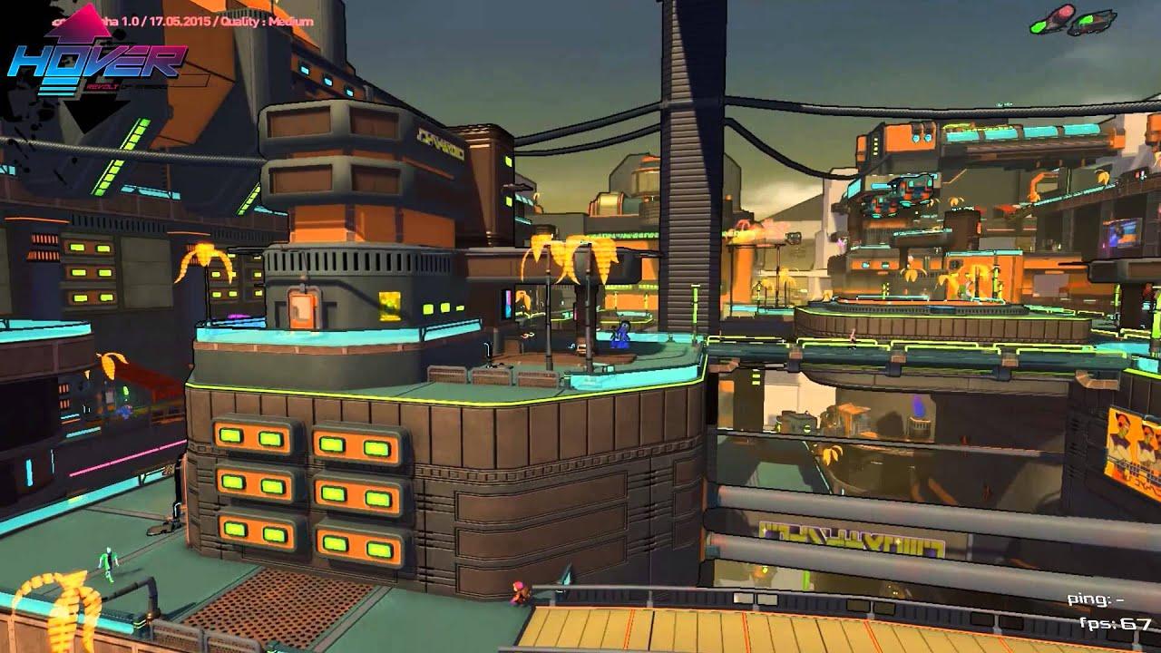 Jet Set-esque Hover: Revolt of Gamers looks pretty
