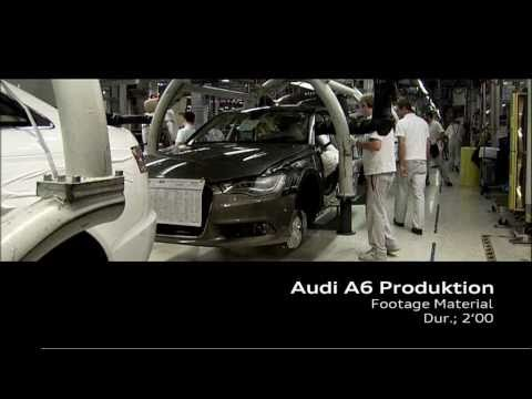 Audi A6 2011 - Production at  Audi - Neckarsulm