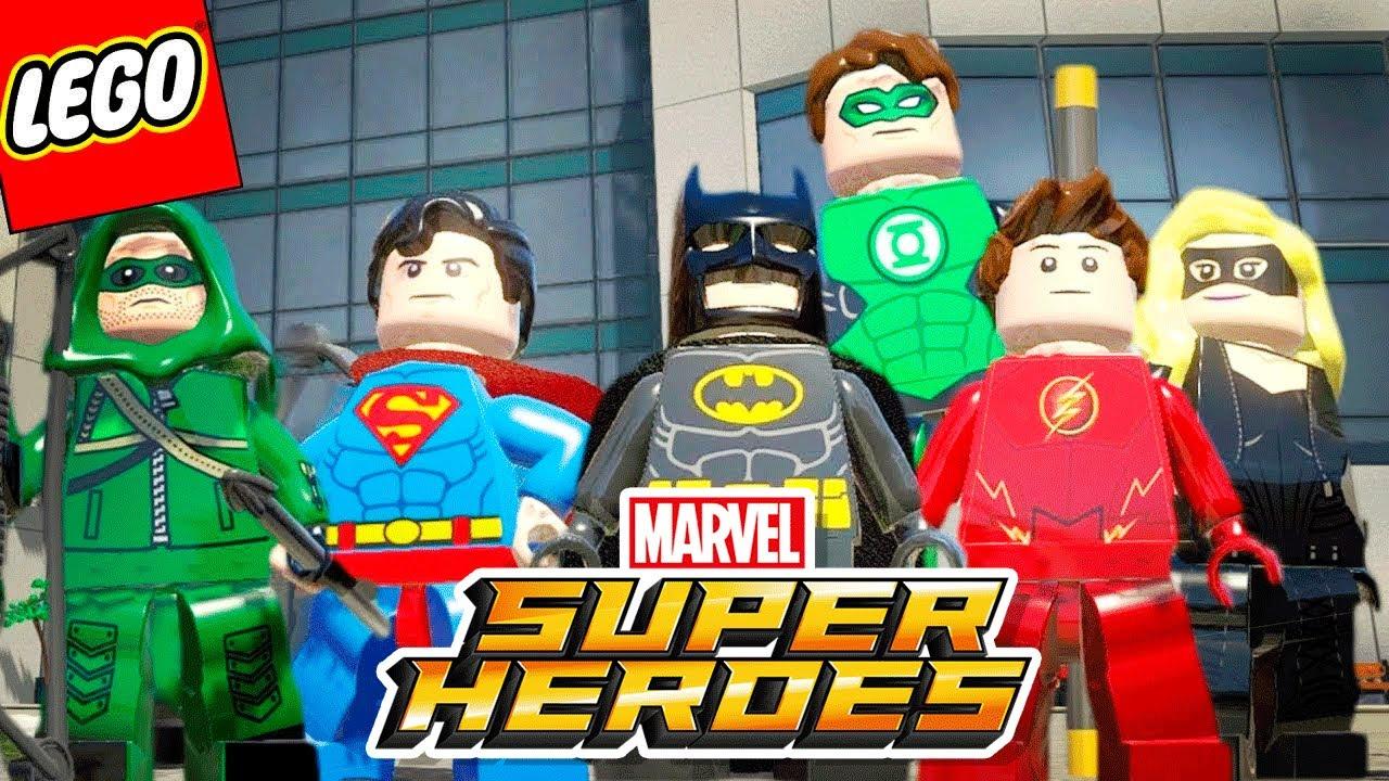 Lego Marvel Super Heroes 68 A Invasao Da Liga Da Justica E