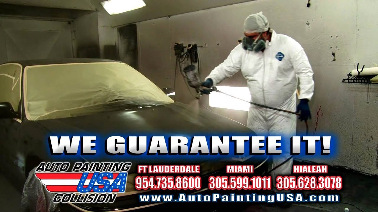 Auto Painting Usa English 3 Youtube
