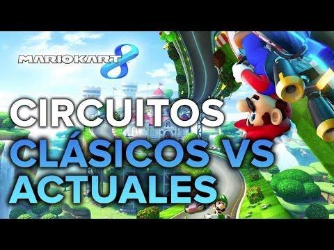 Mario Kart 8: COMPARATIVA - ¡Circuitos originales vs. actuales!
