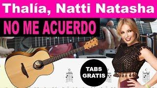 Natti Natasha No Me Acuerdo official video