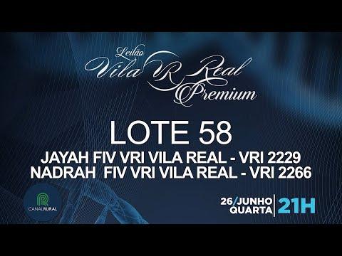 LOTE 58 (VRI 2229/VRI 2266)