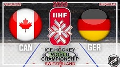 Canada - Germany 🏆 Main round ★ 2020 IIHF Ice Hockey World Championship