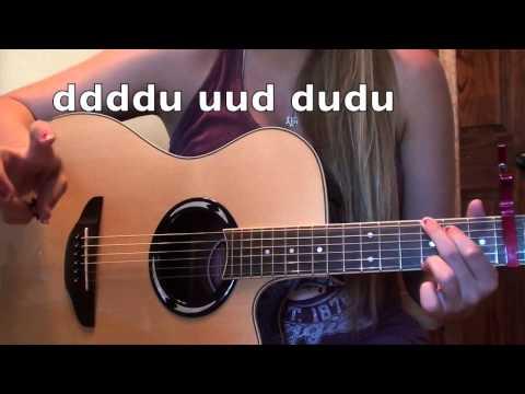 Shut Up and Dance-Walk the Moon Guitar Tutorial