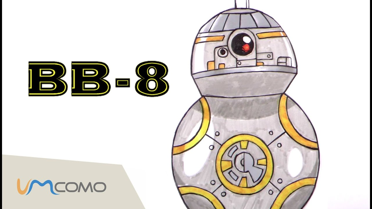 Como Desenhar Bb 8 Star Wars O Despertar Da Forca Youtube