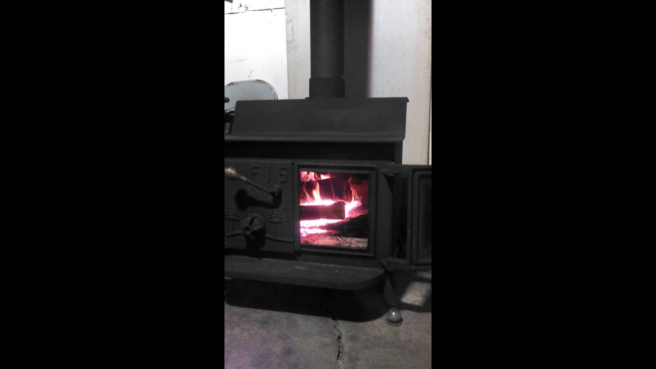 Fisher grandpa wood stove - Fisher Grandpa Wood Stove - YouTube