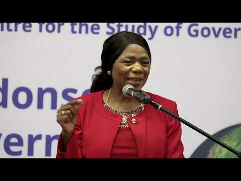 Lecture on WELLBEING ECONOMY  by Thuli Madonsela & Mallence Bart-Williams