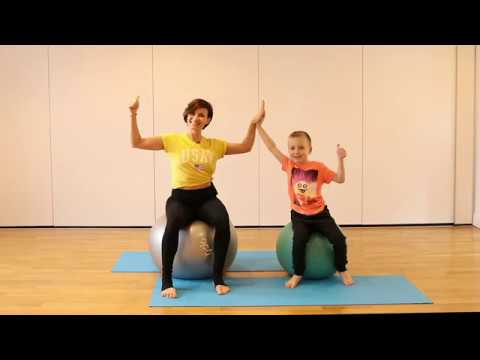 Ball and Fun Kids Pilates with Equitness