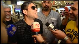 وائل كفوري يتحدث للصحافة قبل مشاركته في حفلات مهرجان