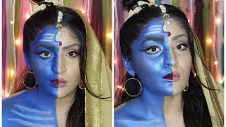 Shiv Ardhnarishwar Makeup Tutorial | Indian Mythology | #LAwithNYXIndia