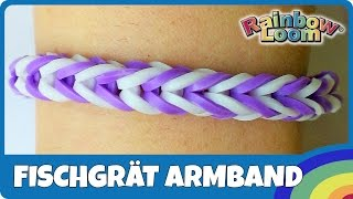 YouTube - FingerLoom Fischgrät-Armband
