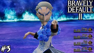 Bravely Default 2 - Boss: Monk Horten (Hard Mode)