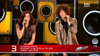 "Jenifer et Côme reprennent ""Superstition"" TheVoice4"
