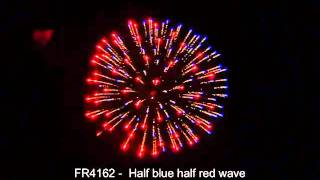 WulkanFajerwerki - F-R4162 - Half blue half red wave.avi
