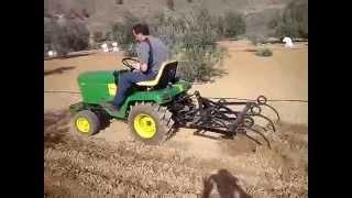 tractor john deere arando