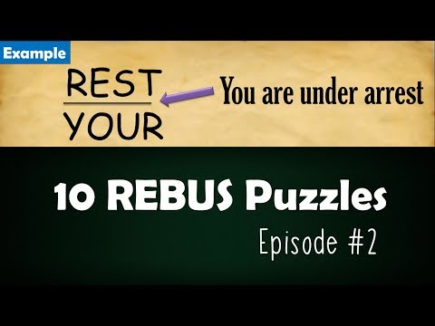 how to solve a rebus