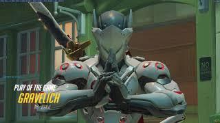 Genji Quintuple Kill - King