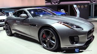 2018 Jaguar F-Type R Dynamic - Exterior and  Interior Walkaround - Debut at 2017 New York Auto Show