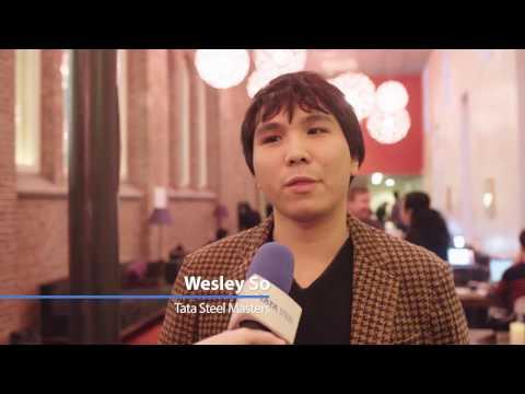 Wesley So on his victory against Radoslaw Wojtaszek in Round 10 - Tata Steel Chess 2017