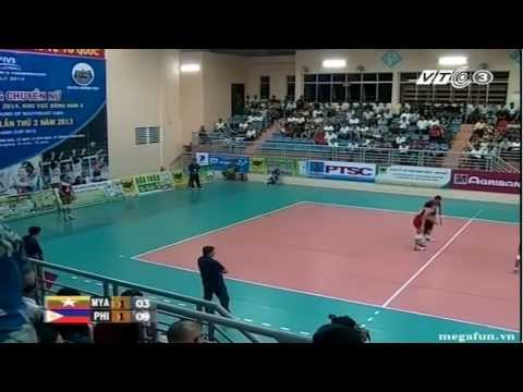Philippines vs Myanmar - 2014 FIVB Women WCH qualification