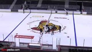 Scotiabank Place: Painting the Ice