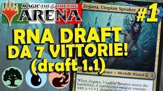 Draft di Allegiance: Temur Midrange - Scelta delle Carte e Gameplay #1.1 (MTG Arena ITA)