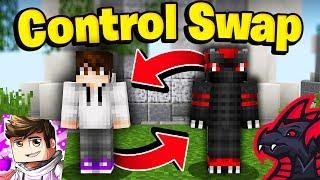 CONTROL SWAP 1v1 CHALLENGE vs SuchSpeed (Minecraft Skywars)