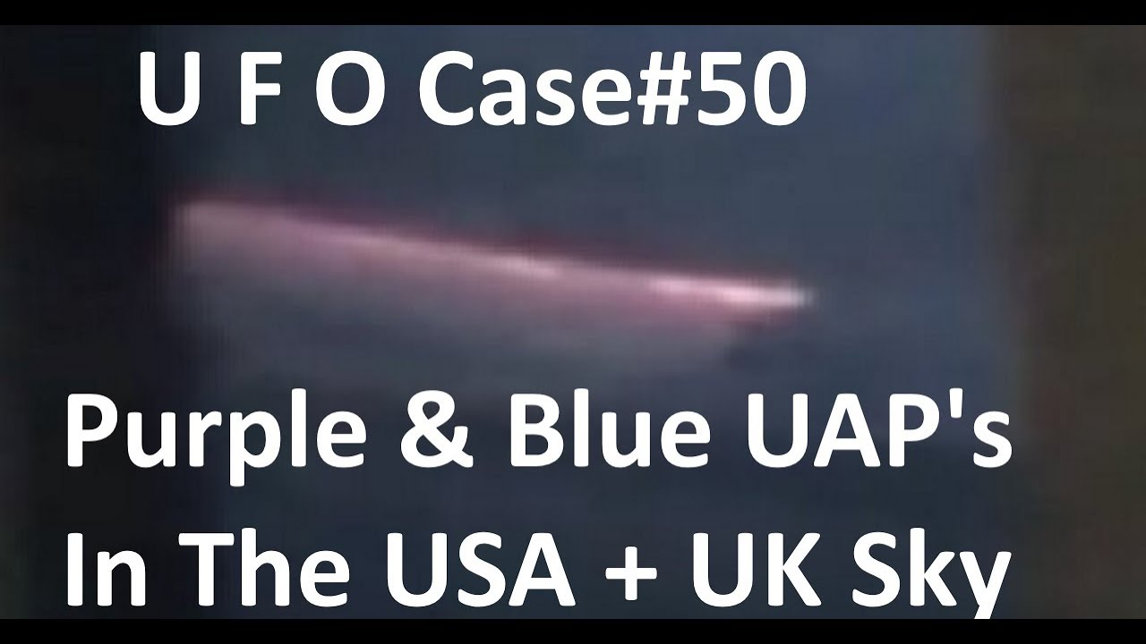 More Blue and Purple UFO's Debunked - The Out There Channel UFO Case#50 (12Apr2018)