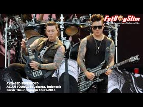 A7X AVENGED SEVENFOLD - A LITTLE PIECE OF HEAVEN live in Jakarta, Indonesia 2015