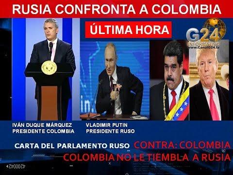 COLOMBIA RESPONDE A RUSIA CON FUERZA- CONOZCA CARTA Y RESPUESTA COMPLETA