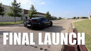 One Last Launch in my 2016 Corvette Z06| 2017 Moments E3