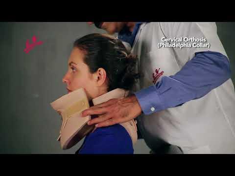 Cervical Orthosis Philadelphia Collar