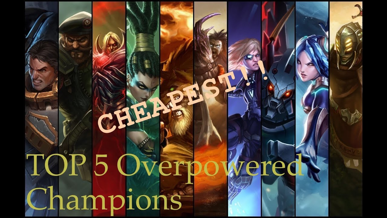 Top 5 Overpowered And Most Cheap Champions-League Of
